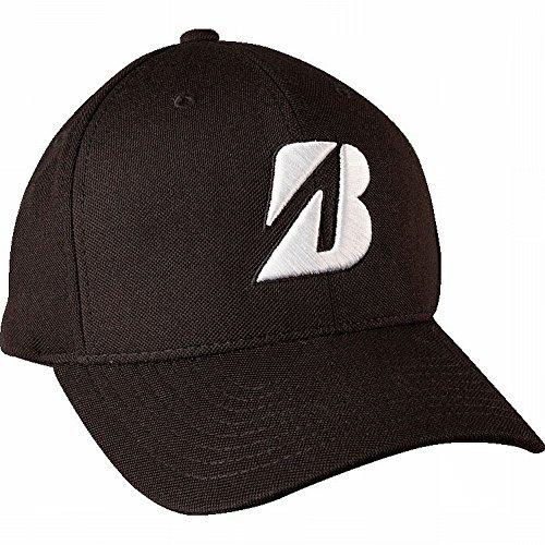 New 2015 Bridgestone Golf Water Repel Adjustable Cap Hat, Black