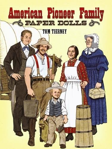 American Pioneer Family Paper Dolls (Dover Paper