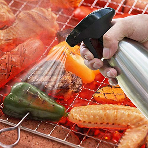 NszzJixo9 Olive Oil Sprayer Kitchen Vinegar Sprayer Barbecue Marinade Spray Bottle Easily Clean Unscrew Rinse With Water Oil Sprayer Recognize Firm