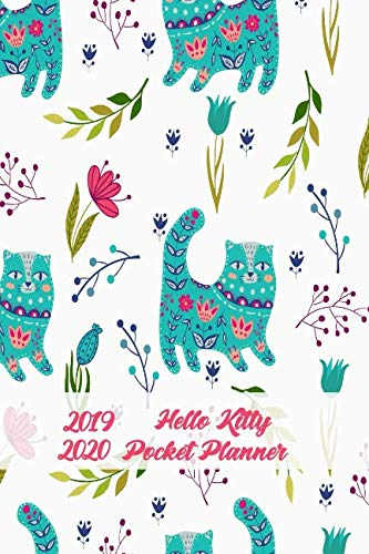 (2019-2020 Hello Kitty Pocket Planner: 24-Month Monthly Planner Calendar to Set Goals and Crush Them, Improve Productivity, Time Management and Self Improvement)