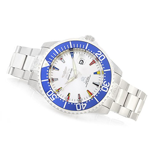 - Invicta Men's 21324 Grand Pro Diver 47mm International Automatic Stainless Steel Bracelet Watch