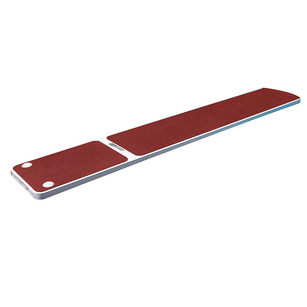S.R. Smith 66-209-576S2R Truetread Diving Board, 6-Foot, Radiant White with Red by S.R. Smith