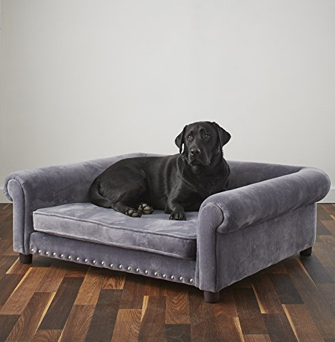Enchanted Home Pet Ultra Plush Jackson Pet Sofa By Enchanted Home Pet