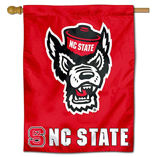 College Flags and Banners Co. North Carolina State University Wolfpack House Flag