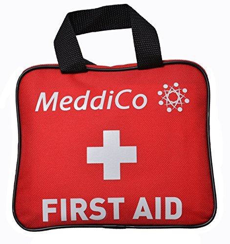 First Aid Kit, 106 Piece: Travel, Car, Home, Work, Sports and Outdoors