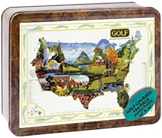 product image for Puzzle Tin Golf Jigsaw Puzzle 550pc