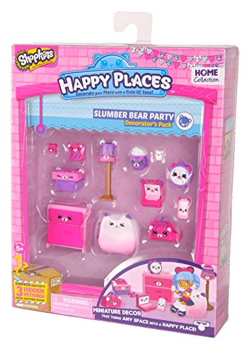 Shopkins Happy Places Decorator Pack Series 1 Wave 2 Slumber