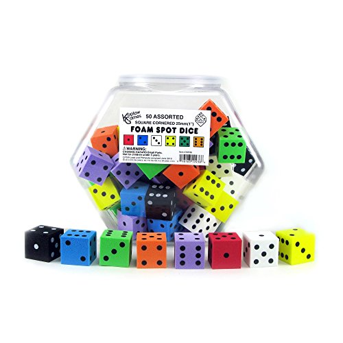 Koplow Games Foam Dot Dice, 1