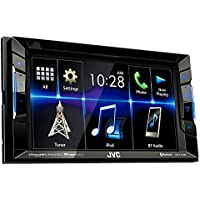 JVC KW-V230BT Multimedia Receiver 6.2 WVGA Clear Resistive Touch Panel/Bluetooth/13-Band EQ