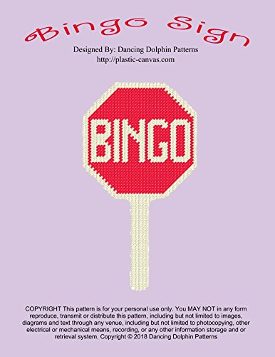 (Bingo Sign: Plastic Canvas Pattern )