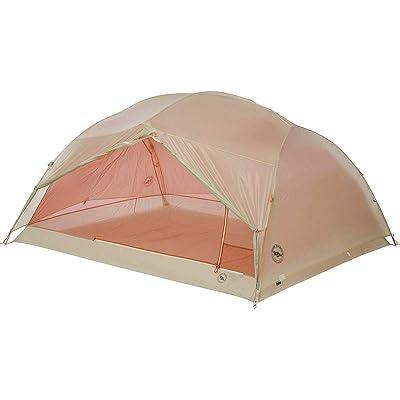 RT One Size Gray-Orange 3 Platinum Copper Spur 3-Person 3-Season Tent: Garden & Outdoor