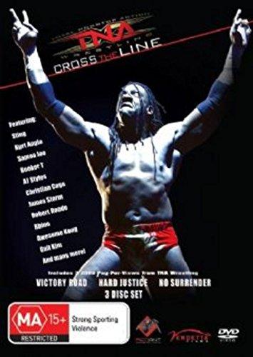 (TNA Cross The Line Victory Road / Hard Justice / No Surrender | NON-USA Format | PAL | Region 4 Import - Australia)