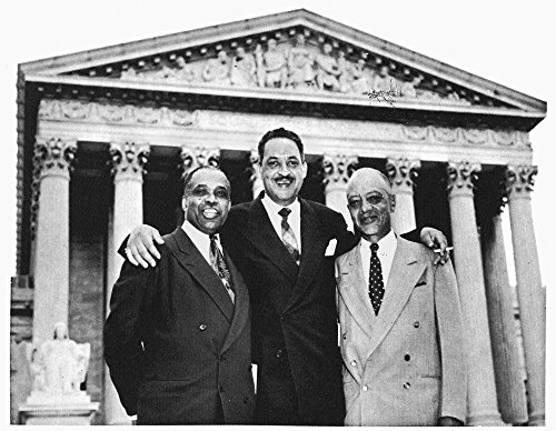 Naacp Attorneys 1954 Nleft To Right Naacp Attorneys George EC Hayes Thurgood Marshall And James Nabrit Jr Celebrate Their Victory In The Brown Vs The Board Of Education Case At The Supreme Court In Wa (Brown Vs Board Of Education Court Case)