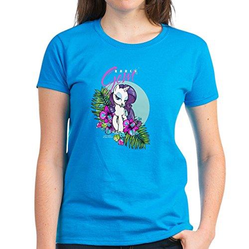 (CafePress MLP-Rare Gem T-Shirt - Womens Cotton T-Shirt)