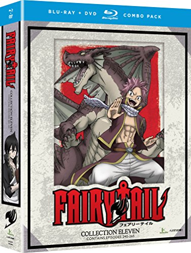 Fairy Tail: Collection Eleven (Blu-ray/DVD Combo) by Funimation