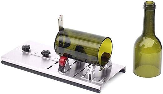 RUNGAO Máquina de cortar botellas de cristal para hacer vasos, kit ...