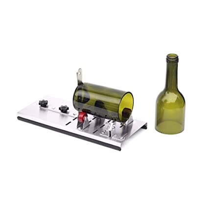 Beer Wine Glass Bottle Cutters Machine Jars Cutting Home Decor Recycle Kit UK