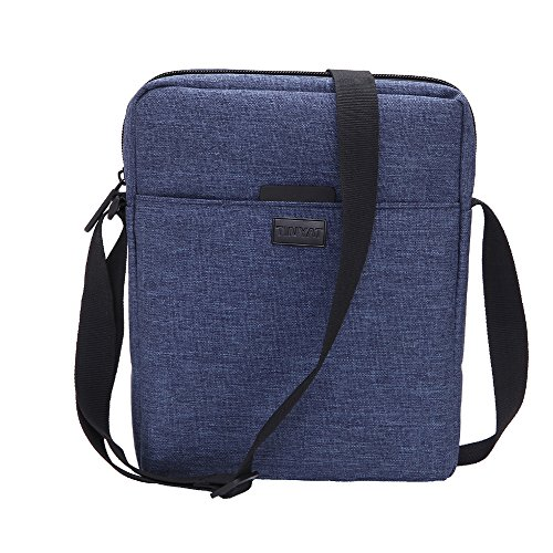 Tinyat T510 Shoulder Messenger Bag Crossbody Pocket Travel Purse T510, Blue