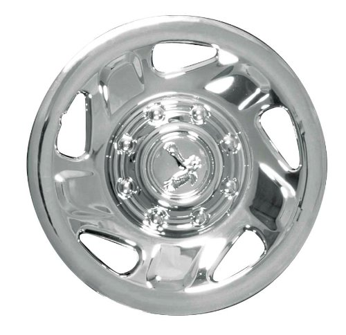 (CCI IWC134-16C 16 Inch Clip On Chrome Finish Hubcaps - Pack of 4)