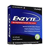 Enzyte Male Enhancement Supplement | Asian Ginseng Root, Horny Goat Weed, Ginkgo Biloba, Grape Seed Extract - Third-Party Tested for Purity & Potency - 30 Capsules