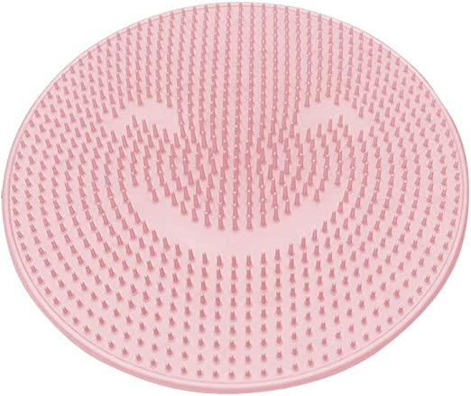 Lazy Silicone Bathroom Strong Suction Cup Floor Non-Slip Back Massage Pad