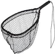 Ed Cumings Inc B-135 Ed Cumings Fish Saver Landing Net (Black, 14-Inch x 11-Inch Bow x 19 1/2-Inch Overall Len