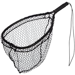 Ed Cumings Inc B-135 Ed Cumings Fish Saver Landing Net (Black, 14-Inch x 11-Inch Bow x 19 1/2-Inch Overall Length x 12-Inch Depth )