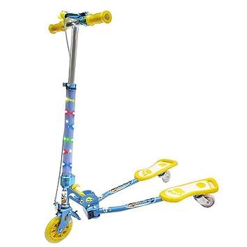 Patinetes Scooter de 3 Ruedas, Kick Scooter Plegable Auto ...