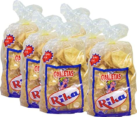 Cuban Style Crackers Rika 12 oz bag. Pack of 6: Amazon.com: Grocery & Gourmet Food