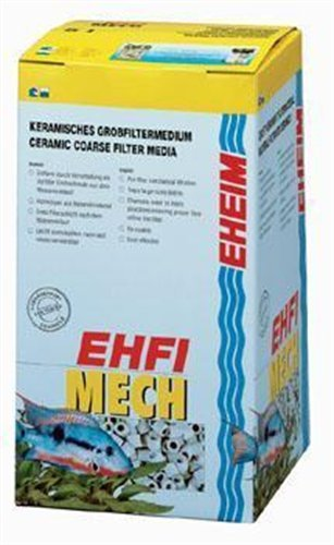 Mechanical Media (EHEIM Mech Mechanical Pre-Filtering Medium (Hollow Ceramic Rings) 5L)
