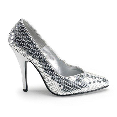 Pleaser - Zapatos de vestir para mujer Silber
