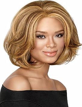 barato las mujeres del precio dama profundas pelucas sintéticas rubias europeos y america , blonde