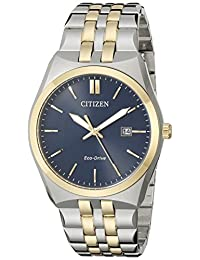 Citizen Men's Corso BM7334-58L Wrist Watches, Blue Dial