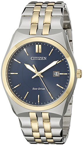 (Citizen Men's Eco-Drive Stainless Steel Watch with Date, BM7334-58L)