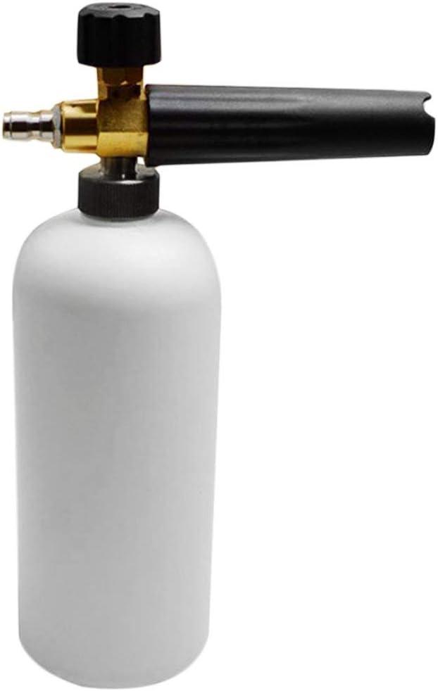 Formulaioue Pistola de Agua de Alta presión Profesional y eficiente Pistola de Espuma Pulverizador Dispensador de boquillas para limpiadores de automóviles Hogar-Blanco