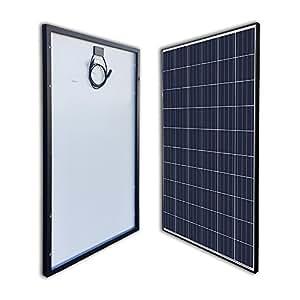 RENOGY 270W Watt Polycrystalline Black Solar Panel UL Listed