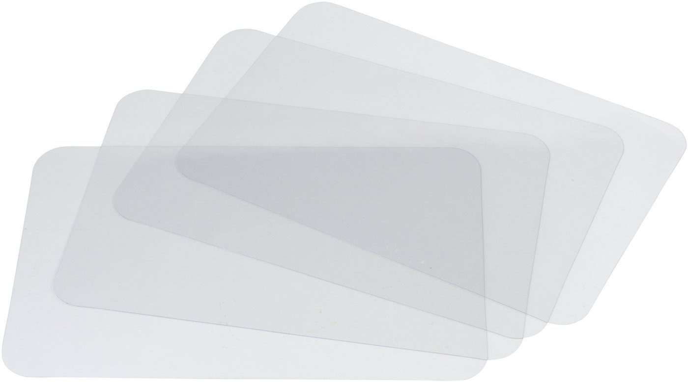 Clear plastic table top protector - Clear Plastic Table Top Protector 58