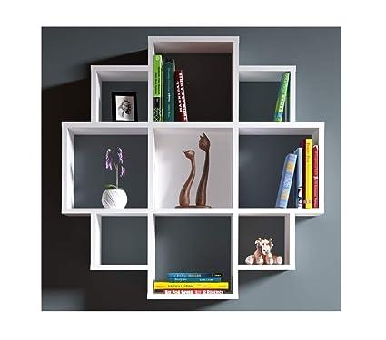 Bloom Wall Shelf Bookcase Book Shelf Floating Shelf For Living