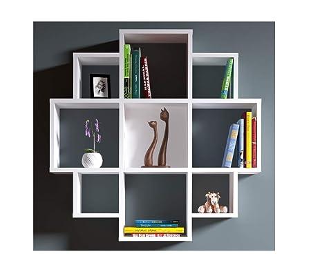Libreria A Parete Prezzi.Homidea Bloom Mensola Da Muro Mensola Parete Mensola Libreria
