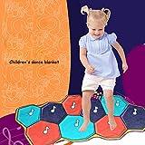 QXMEI Children's Music Dance Carpet Video Game Blanket Music Dance Blanket 66138 cm