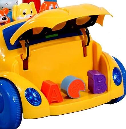 ARTI Trotteur Porteur A2098 Happy Animal Yellow TrottGym