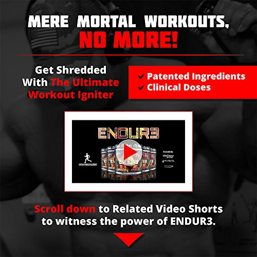 ENDUR3 Intra Workout BCAA Supplement | 4:1:1 Ratio of Trademarked Amino Acid Blend at Clinical Dosage | Best Drink for Endurance & Recovery | 30 Servings (Unicorns Blood) by Olympus Labs (Image #4)