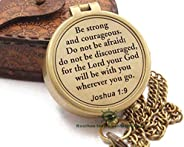 Joshua 1:9 /Jeremiah 29 11/Proverbs 3: 5-16/Confirmation gift/God is with you/Be Strong And Courageous/Trust I