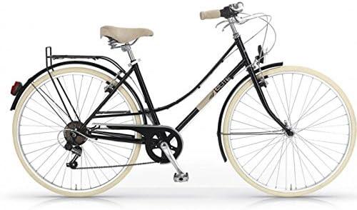MBM Elite - Bicicleta de paseo para mujer, diseño vintage clásico ...