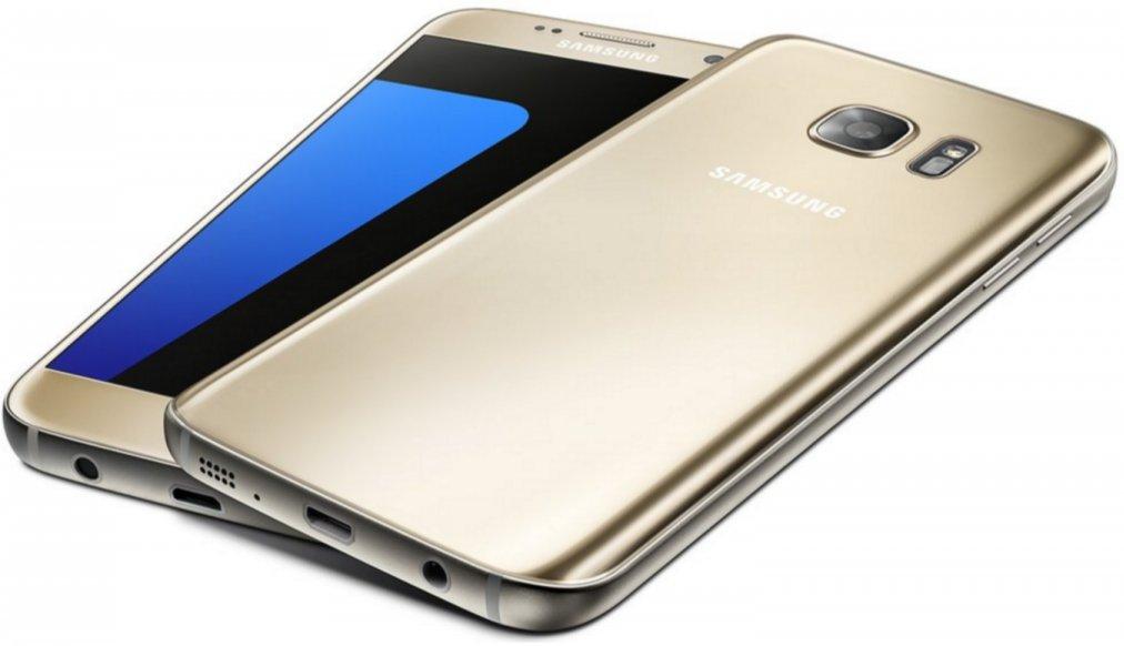Samsung Galaxy S7 G930A 32GB Gold Platinum - Unlocked GSM (Renewed)