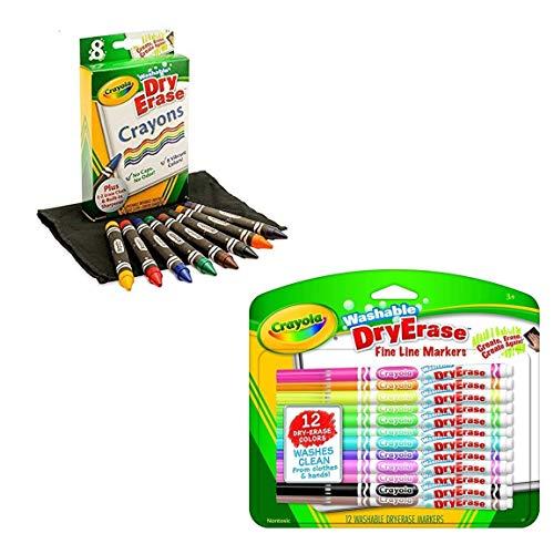 Crayola Washable Dry-Erase Markers & Dry-Erase -