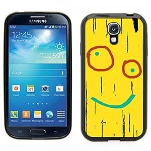 Samsung Galaxy S4 SIIII Black Rubber Silicone Case - Plank Ed Edd Eddy Yellow Plank Board Cartoon