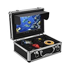 Eyoyo 9 Inch LCD Monitor Underwater Fishing Video Camera Fish Finder DVR Recording for Ice and Lake Fishing w/ 8GB TF Card HD 1000TVL Camera with 12 Adjustable White Light LEDs