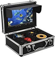 Eyoyo Professional 9 inch LCD Monitor HD 1000TVL Camera with 12 Adjustable Infrared LED Lights Underwater Ice
