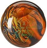 Hammer Widow Spare Bowling Ball, Orange/Black, 15 lbs.